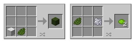 Corante verde Limão e Verde Escuro