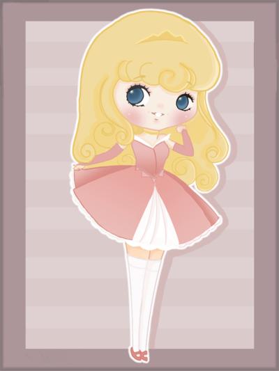 Disney Lolita Aurora by mollay