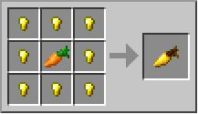 Golden carrots- minecraft