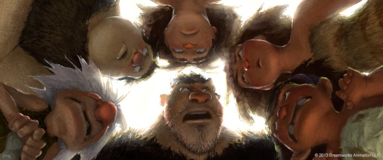 Arte Conceitual- The Croods
