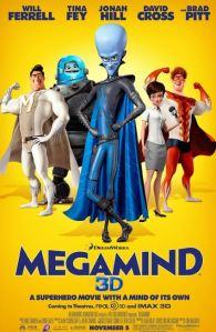 Megamente- Poster