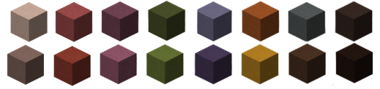 Clay Colors- Minecraft