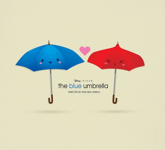 The Blue Umbrella - Guarda-chuva azul