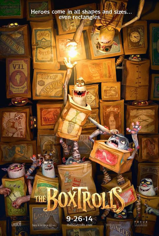The BoxTrolls-Poster