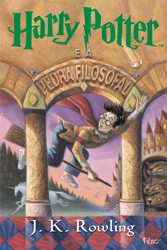 Harry Potter - Livro 1 - Brasil EUA