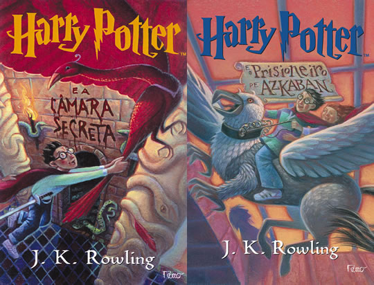 Harry Potter - Livro 2 e 3 - Brasil EUA