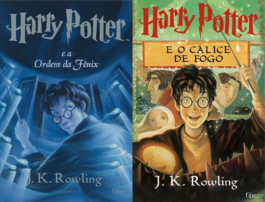Harry Potter - Livro 4 e 5 - Brasil EUA