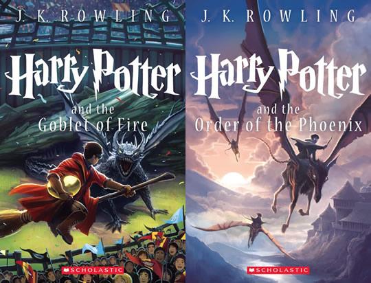 Harry Potter - Livro 4 e 5 - Edição Comemorativa