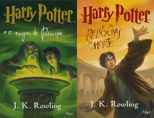 Harry Potter - Livro 6 e 7- Brasil EUA