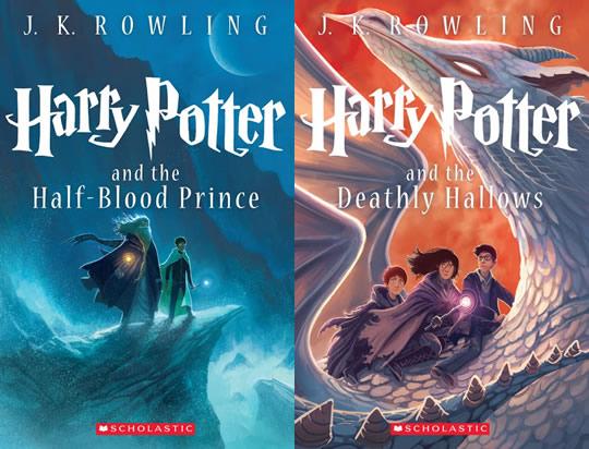 Harry Potter - Livro 6 e 7 - Edição Comemorativa