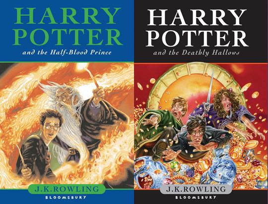 Harry Potter - Livro 6 e 7 - UK Canada Austrália
