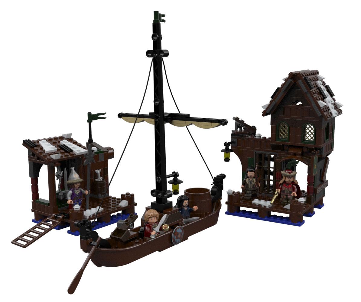 Lake Town Chase - O Hobbit
