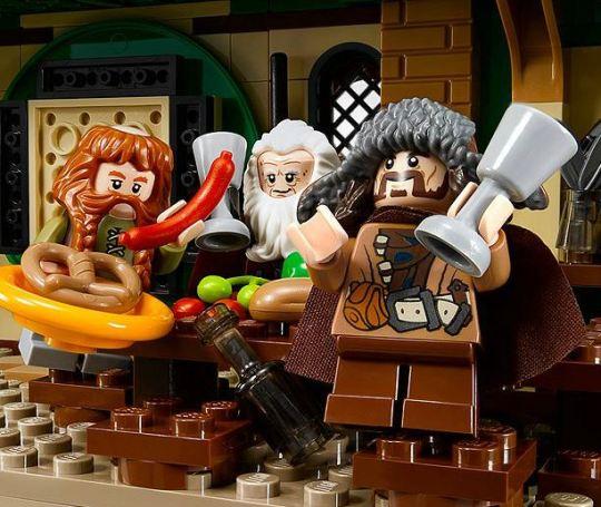 Lego - Um encontro Inesperado - Anões