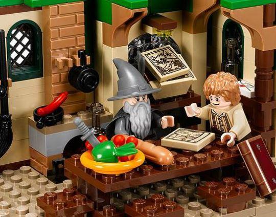 Lego - Um encontro Inesperado - Bilbo e Gandalf