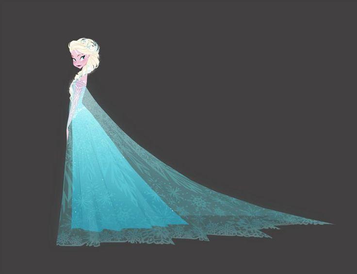 Frozen Elsa ConceptArt 1