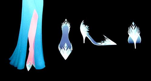 Frozen Elsa ConceptArt - shoes