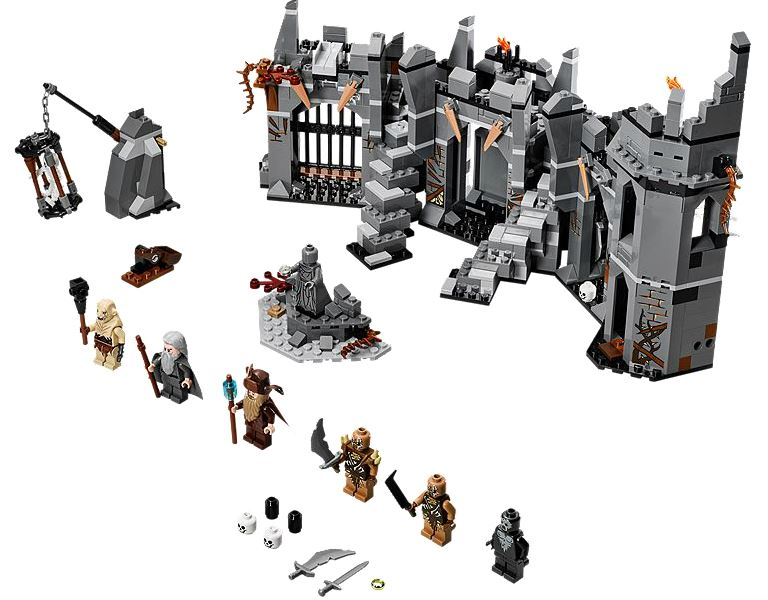 Lego- Hobbit- Dol Guldur Battle
