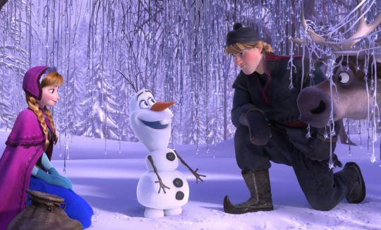 frozen - personagens