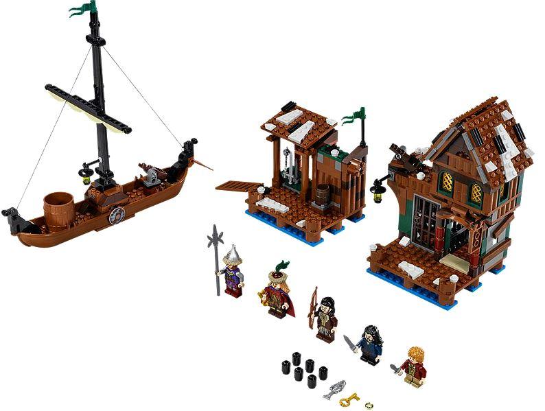 Lego O Hobbit: Lake-town Chase