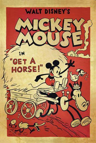 poster - Get a horse - disney