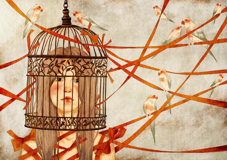 Birds by moonywolf