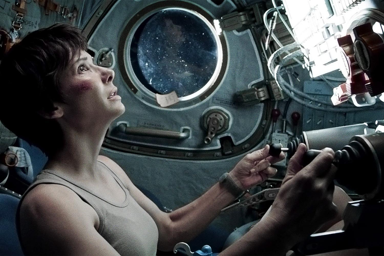 Gravity -Sandra Bullock
