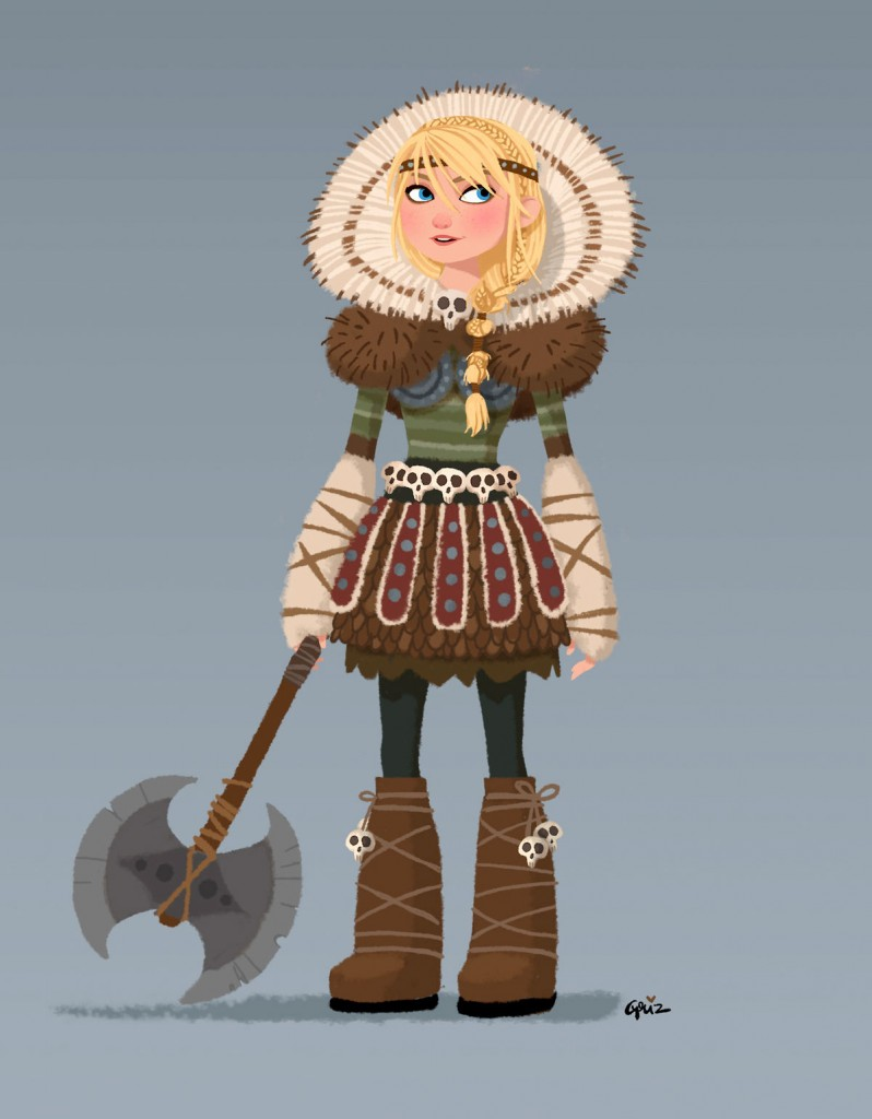 how to train your dragon astrid