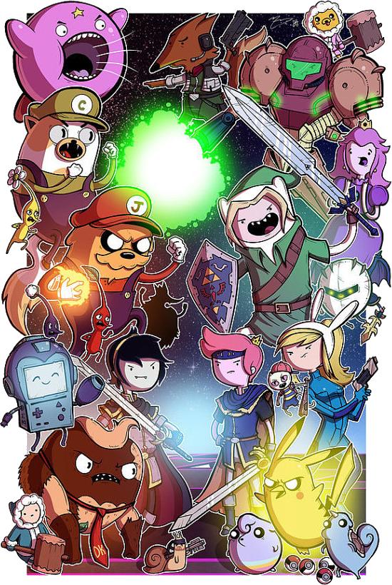 Adventure time smash bros