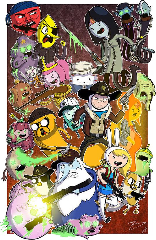 Adventure time walking dead