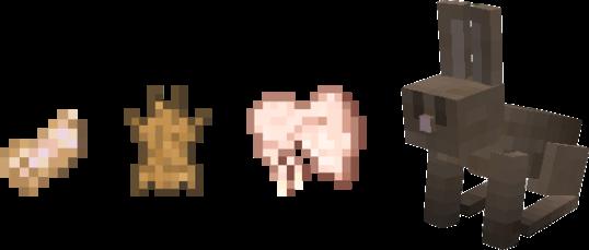 coelhos minecraft