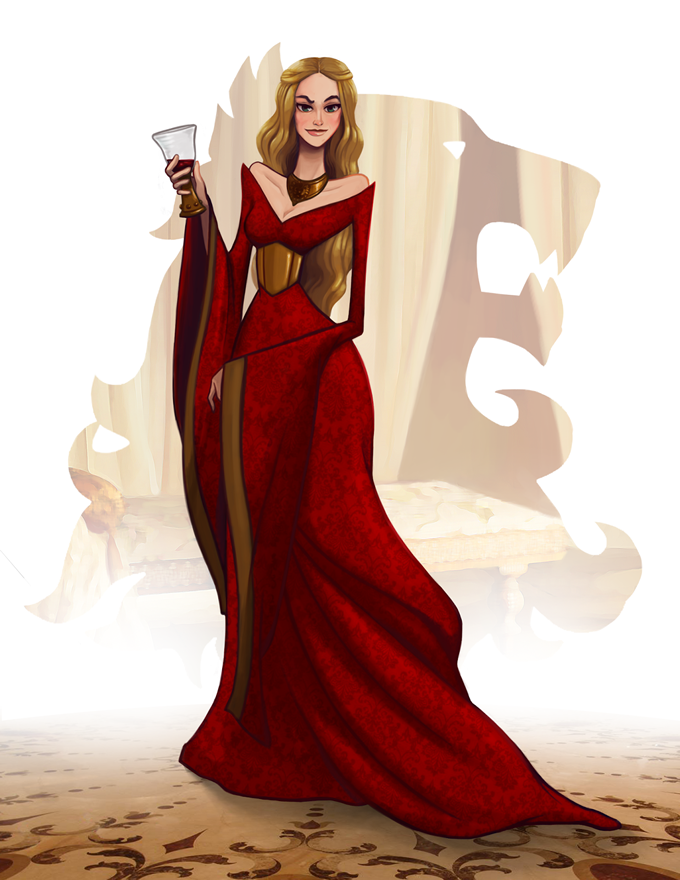 cersei Game of thrones art