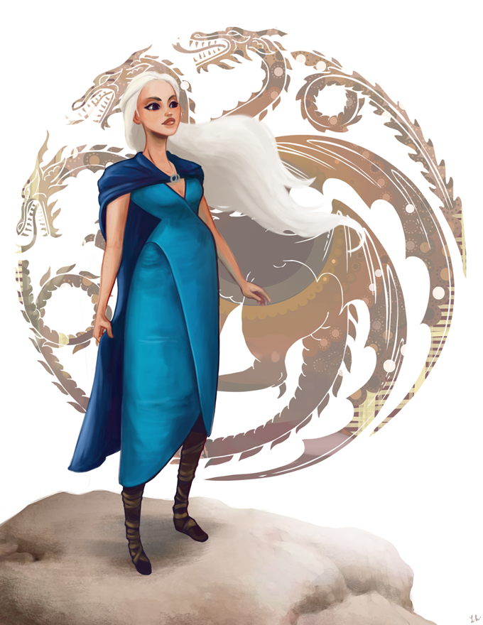 daenerys Game of thrones art