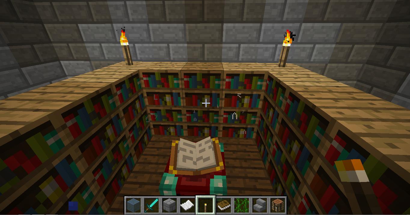 Minecraft mesa de encantamentos