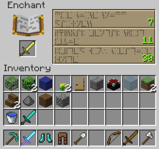 Minecraft mesa tela