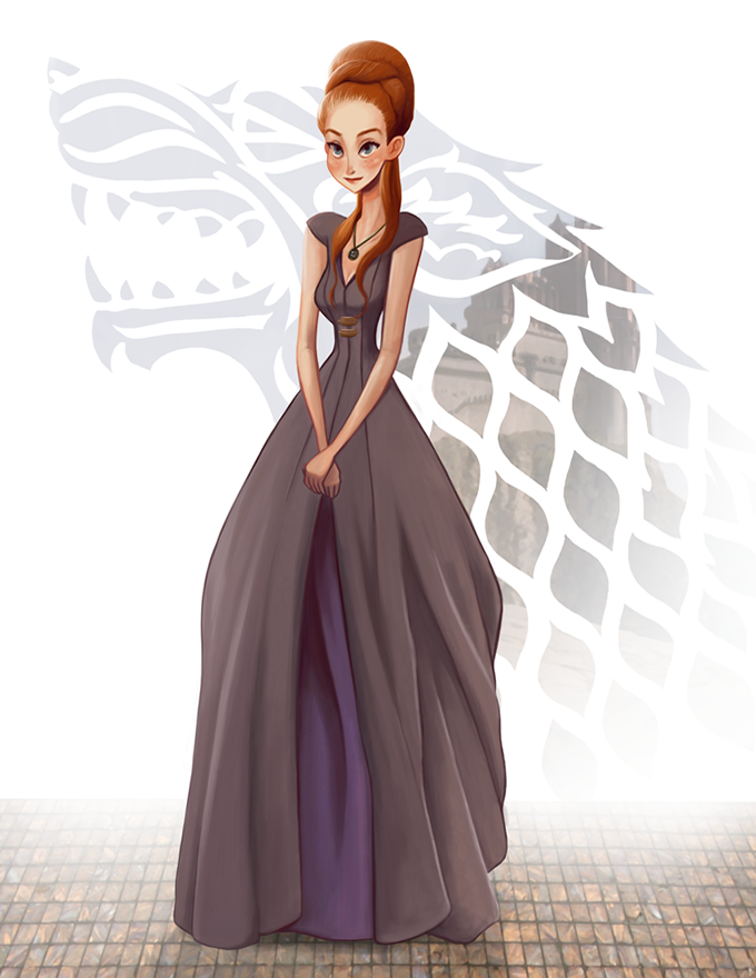 sansa Margaery Game of thrones art