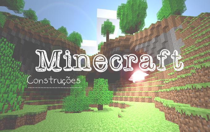 Minecraft-banner-construções