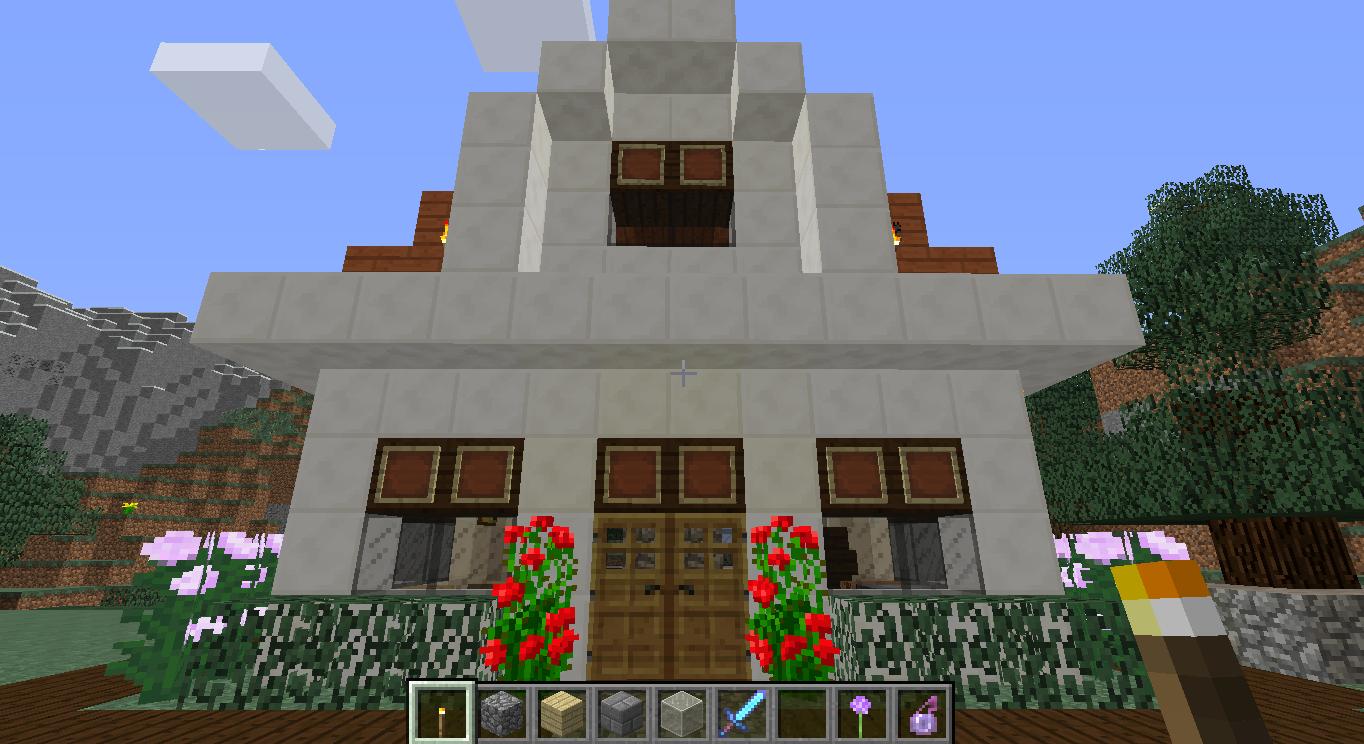 Minecraft Construções  Colorindo Nuvens