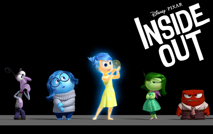 banner Inside out pixar
