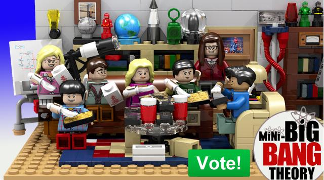 Lego The Big Bang Theory