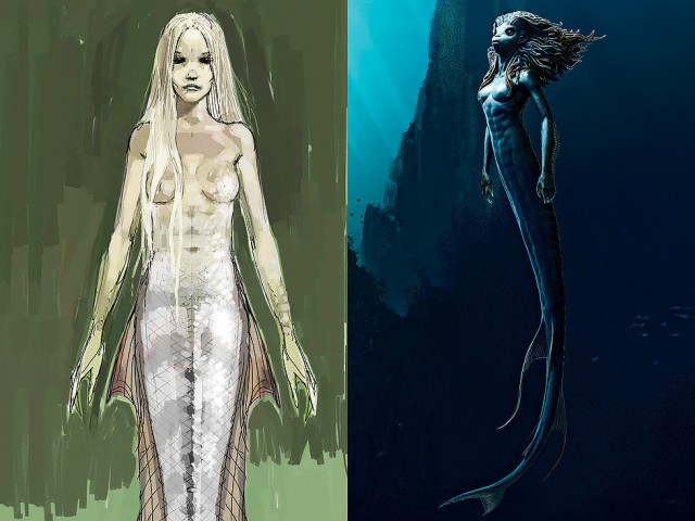harry Potter the creature vault concept art sereia