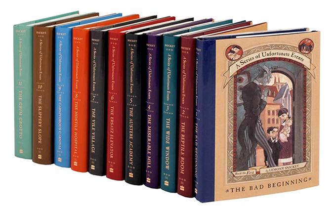 livros desventuras em serie