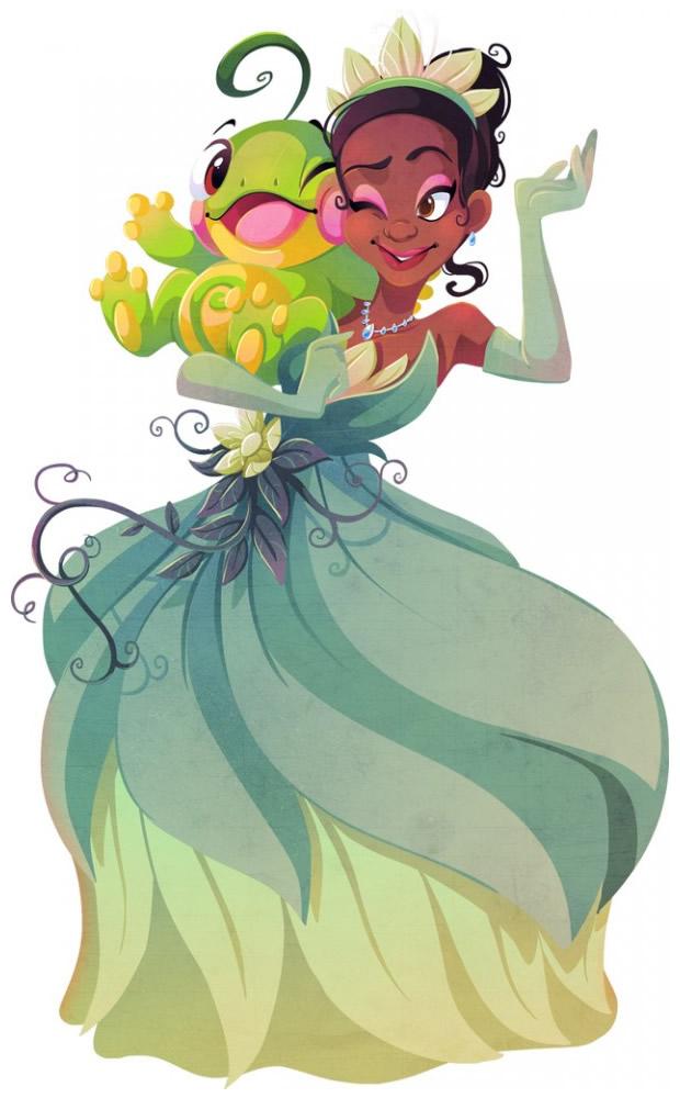 PokemonPrincesasDisney-ColorindoNuvens